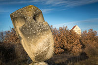 Sculpture and small chapel in St. Margarethen in Burgenland
