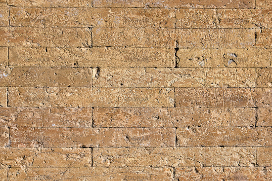 Background from a historic old brick wall