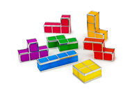 Tetris toy blocks