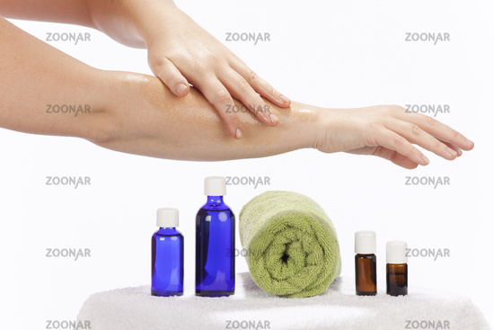 Skin care with essential oils