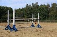 Horse training field