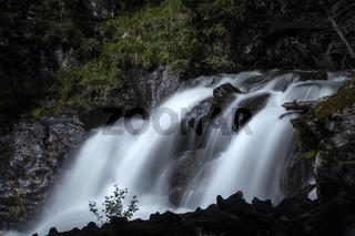 Wasserfall in der Steiermark, Österreich, Europa