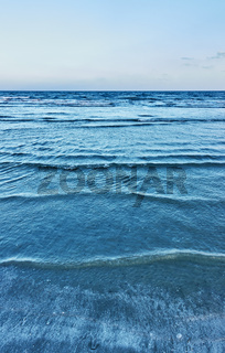 Soft sea surf - background