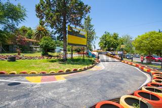 Argentina Cordoba go kart circuit in Villa Carlos Paz