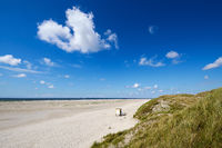 Island Amrum - at the long beach in Norddorf