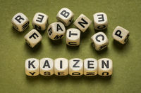 kaizen word, Japanese continuous improvement and a change