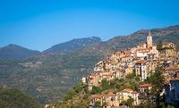 Apricale - Italian old village in Liguria region