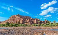 Ait Benhaddou, traditional berber kasbah, Morocco