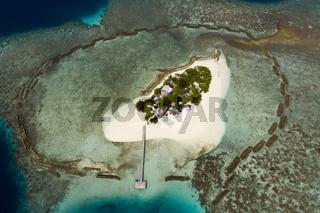 Luftaufnahme, Vaagali, Malediven