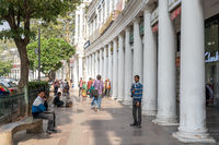Connaught Place in New Delhi, India