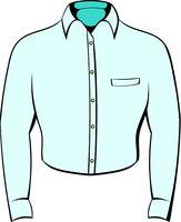 Mens shirt icon cartoon