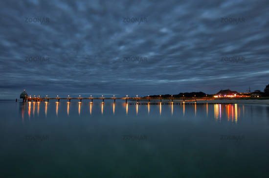 pier Zingst night shot