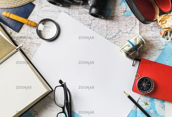 Travel concept background
