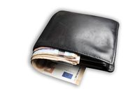 wallet filled with lots of cash