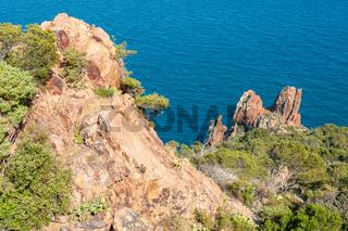 Küstenlandschaft am Cap du Dramont