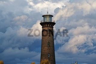historischer alter Leuchtturm