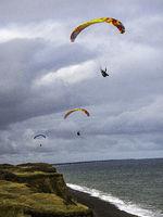 UK - Norfolk - Northern Coastal Path - Paraglider