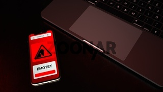 Smarthone Emotet Trojan