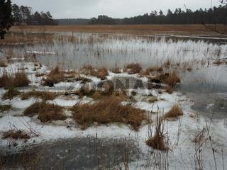Winterlandschaft auf den Alandinseln, Föglö,