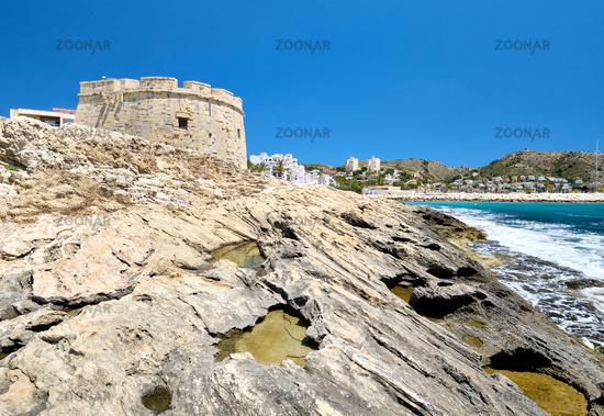 Fortress of Moraira. Costa Blanca, Province of Alicante, Spain