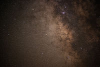Close-up Image of the Milky Way Core