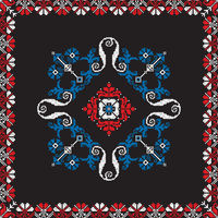 Romanian traditional pattern 211
