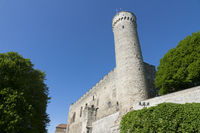 Tall Hermann - a tower of the Toompea Castle on Toompea hill. Tallinn, Estonia
