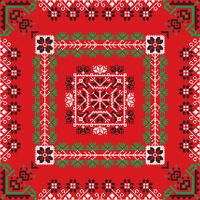 Romanian traditional pattern 195
