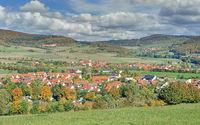 Oberfladungen,bavarian Rhoen,Germany