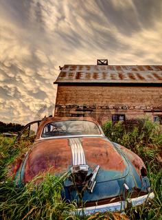 Prairie Storm antique car
