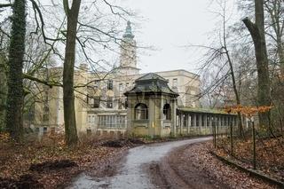 Schloss Dammsmuehle, Schoenwalde, Brandenburg, Deutschland
