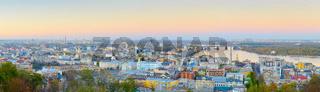 Panorama Kyiv Podil Old Town