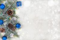 Christmas or winter background.