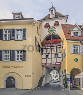 Meersburger Unterstadt, Stadttor