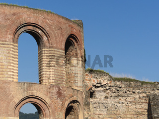 Trier - Kaiserthermen, römische Badeanlage, Deutschland