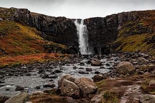 Gufufoss waterfall, Iceland