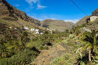 La Vizcaina above Valle Gran Rey on the island of La Gomera