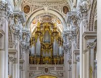 organ in the Saint Stephens Cathedral