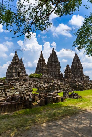 Prambanan temple near Yogyakarta on Java island - Indonesia