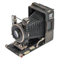 historic folding camera