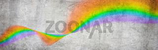 welle regenbogen grafik farben bunt asphalt