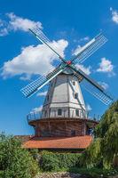 Ekern Windmill, Bad Zwischenahn - Ekern, Lower Saxony, Germany