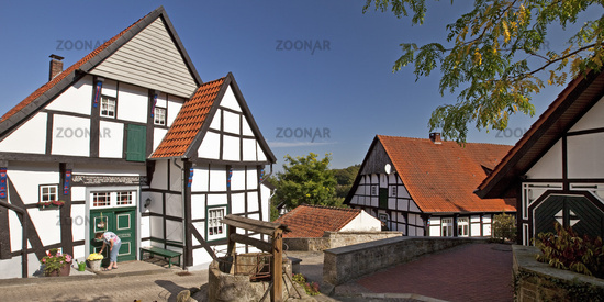 Half-timbered houses, Tecklenburg, Germany