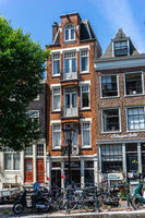 Town houses in Amsterdam