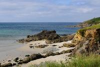 Brittany beach at Primelin Pointe du Raz