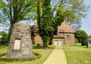 Dorfkirche Staffelde, Landkreis Oberhavel, Brandenburg, Deutschland