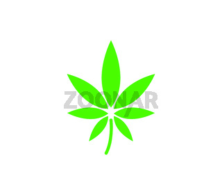 hemp icon illustrated in vector on white background