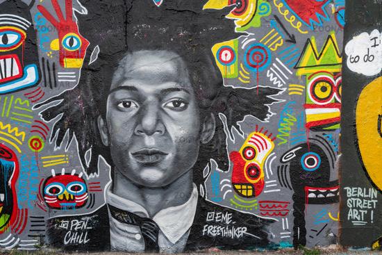 Graffiti Mauerpark in Berlin