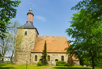 Church of St. Nicholas, Boetzow,  Oberkraemer, Brandenburg, Germany