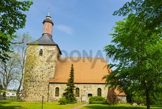 Nikolaikirche Boetzow, Gemeinde Oberkraemer, Brandenburg, Deutschland